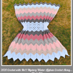 2020 Crochet with Me!!! 7th Annual Mystery Afghan CAL… Week 8!!!