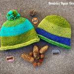 Simple Squiggle Beanie… Free Crochet Pattern!!!