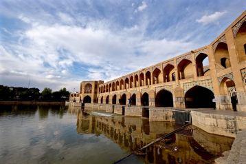 Khaju Bridge, Isfahan, Iran