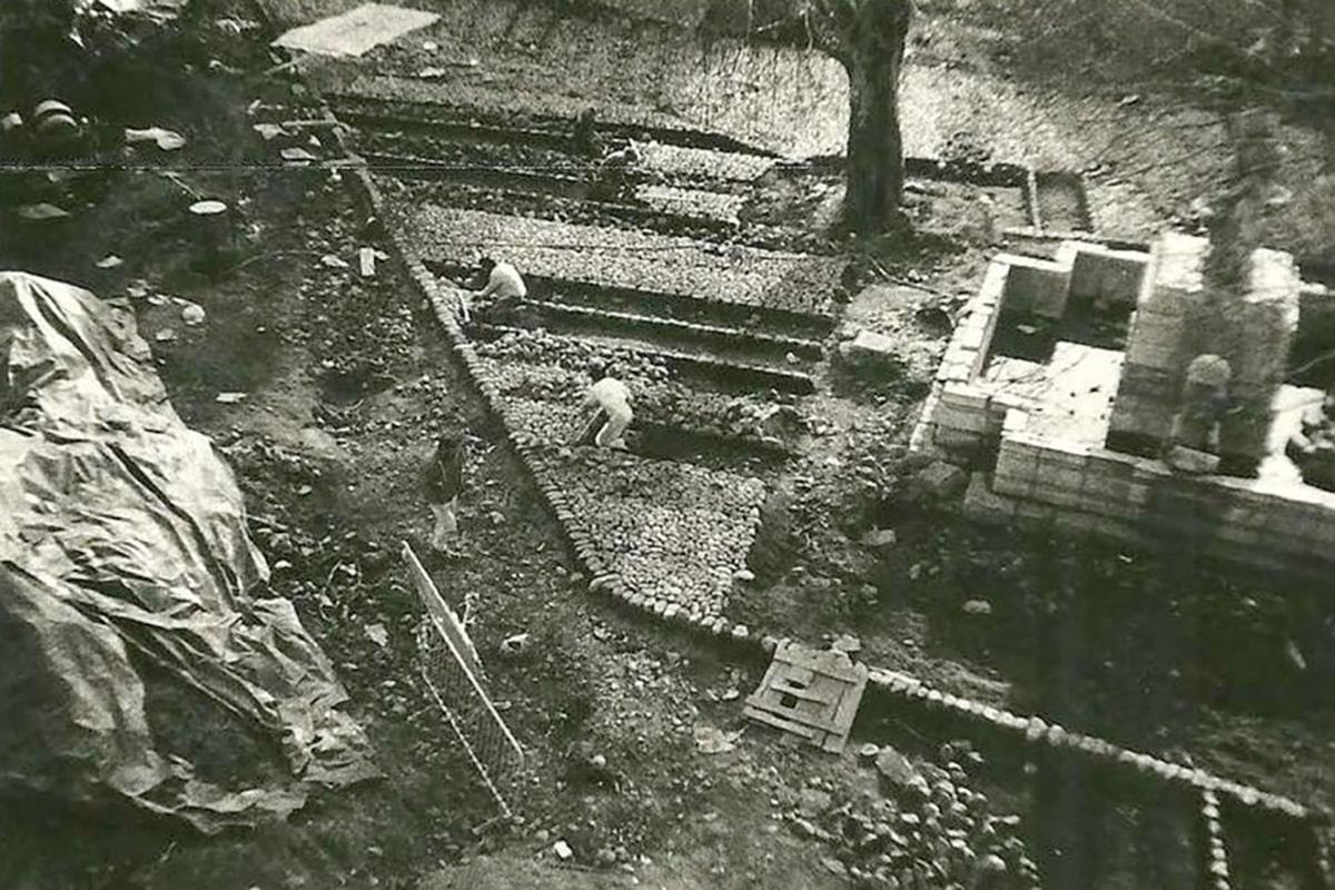 restauracion plaza del grano 1987