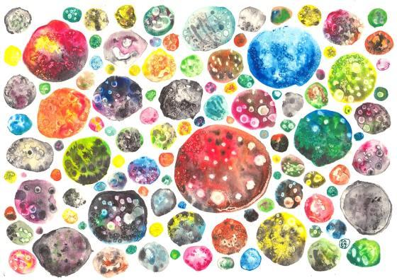 beatriz larepa ilustracion diseño arte planets