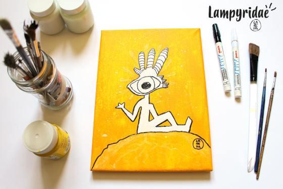beatriz larepa ilustración diseño arte Lampyridae