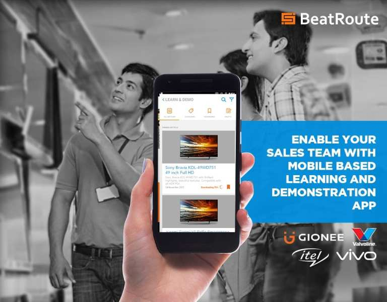 'Convincing Demo, Sure Sell'- through team learning with BeatRoute