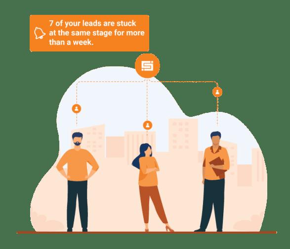 field sales app lead management CRM