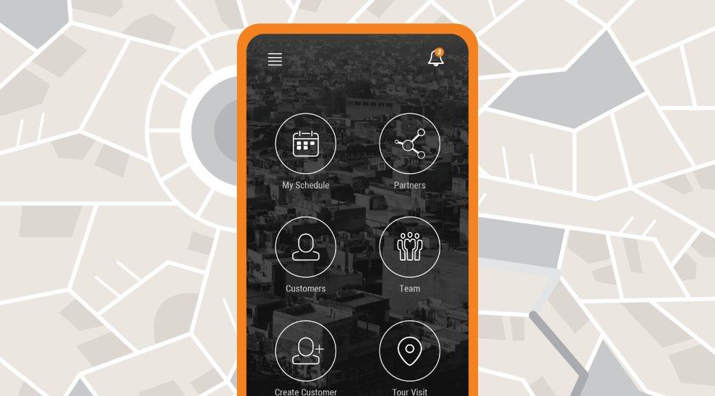 Sales Force Automation App