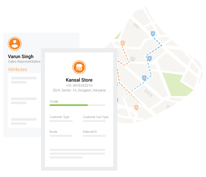 FMCG sales app route optimization
