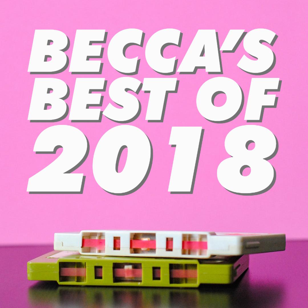 beatsbybecca favorite albums of 2018