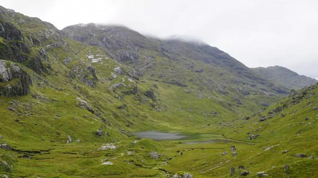 The Rugged Knoydart terrain