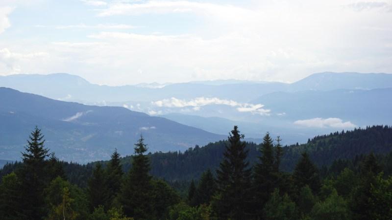 Sarajevo hills hiking Bosnia-Herzegovina