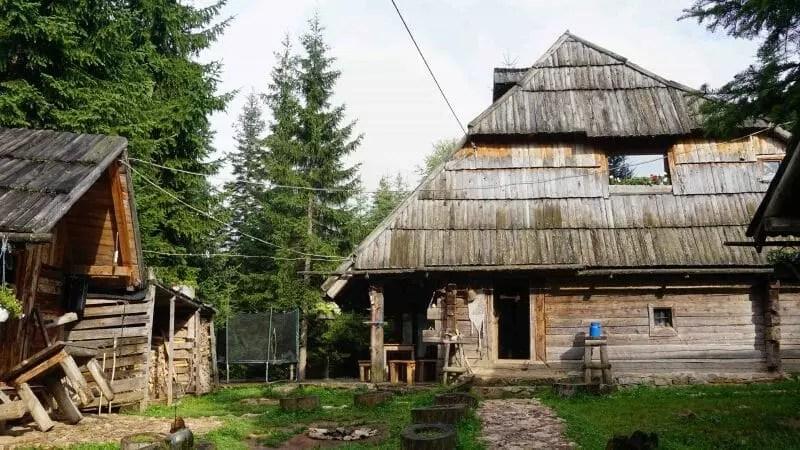 Wooden lodge Vukov Konak