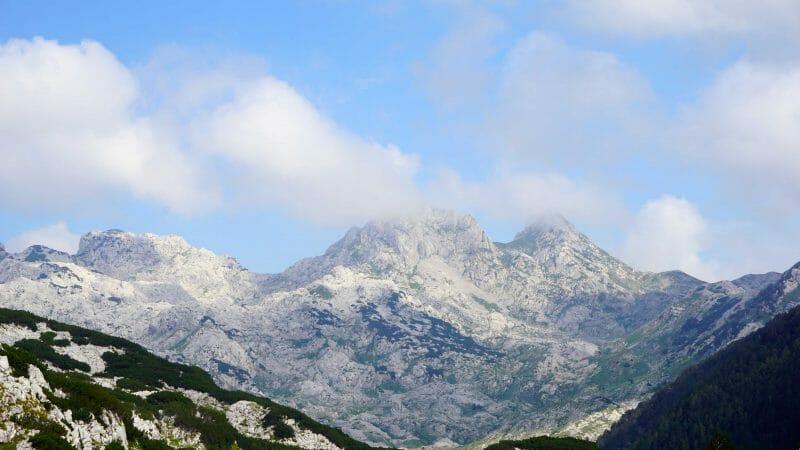 Dinaric Alps rock formations