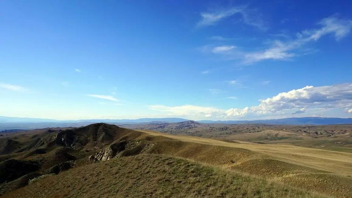 Udabno Georgia landscape
