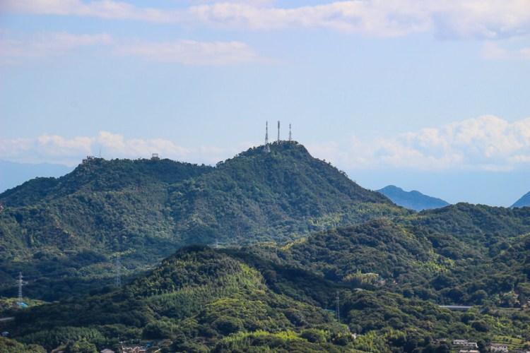 向島の高見山