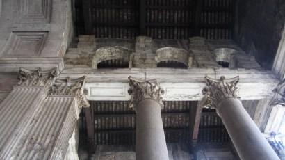 Pantheon Outside Columns