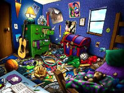 Ta chambre est rangée ?