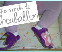 Chouballon, le chausson en cuir 100% artisanal pour les petits et grands petons {Test}