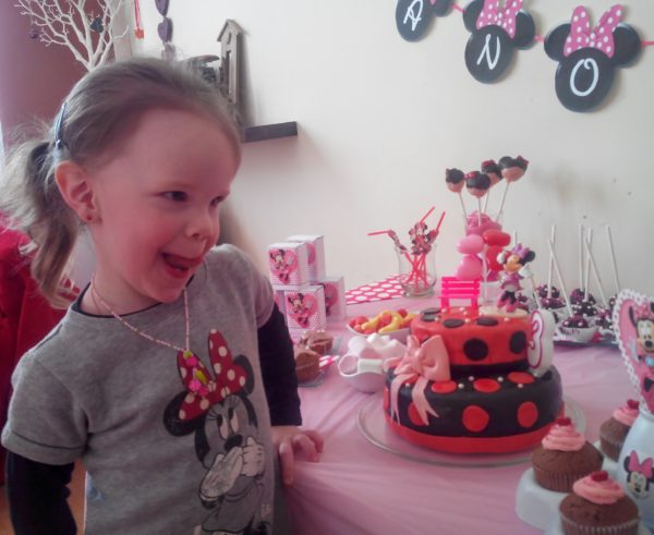 sweet table minnie mouse / anniversaire