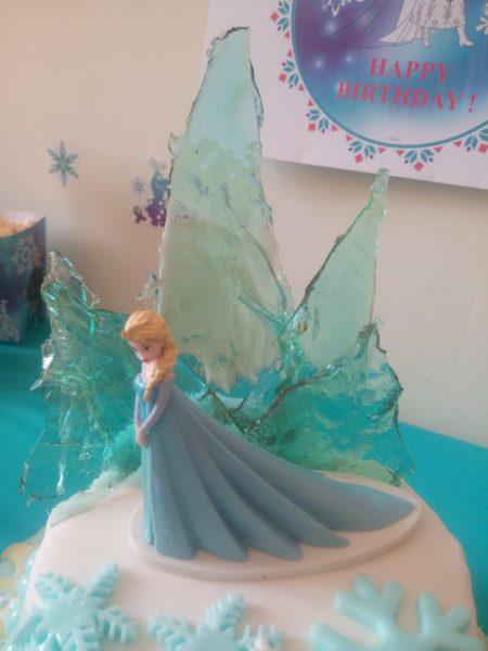 gateau reine des neiges / anniversaire