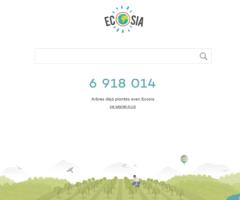 Écosia, le moteur de recherche écolo qui plante des arbres