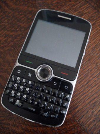 Premier téléphone portable