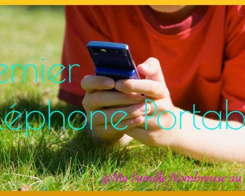 Premier téléphone portable pour l'entrée en 6ème