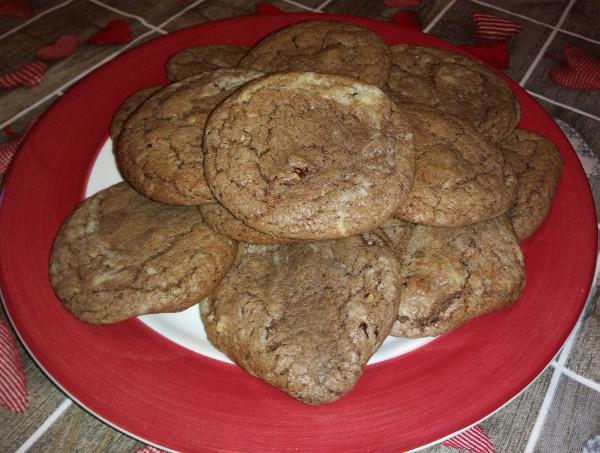 recette des cookie-brownies