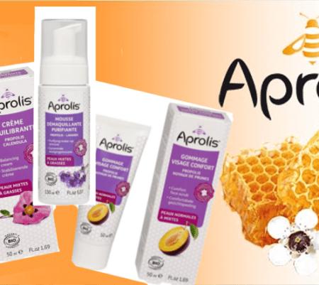 Aprolis, la cosmétique bio et 100% naturelle, made in France