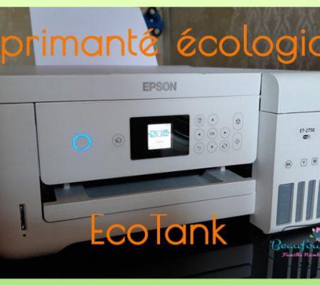 L'imprimante écologique EcoTank de EPSON {Vidéo}