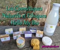 Des cosmétiques naturels et éthiques avec Hello My Bio*