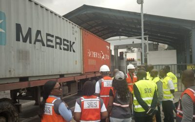 Cameroon, a real reference in Africa with 100% scanning technology for scanning containers