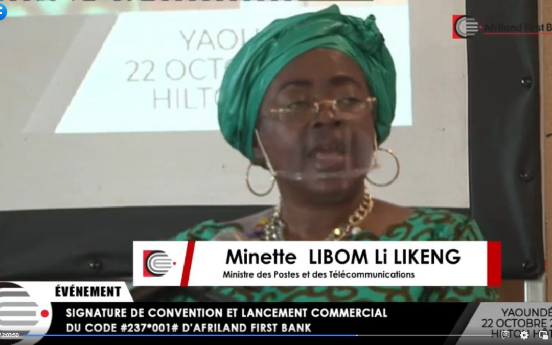 Minette Libom Li Likeng : «Le Switch national #237# garantit un accès équitable de tous les opérateurs au marché des transferts financiers électroniques»