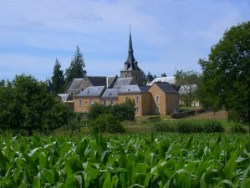 vue du bourg de Beaulieu