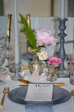 Beaulieu house wedding venue table setting