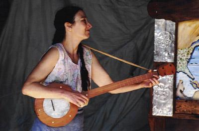 Valerie et banjo