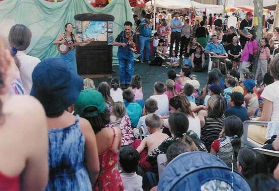 Festival RE'AL CROCHE, juillet, 2004