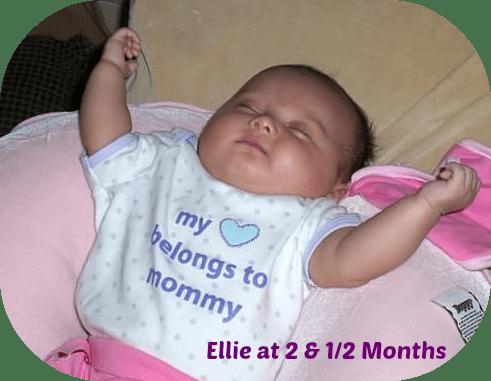 BabyEllieonmothersday