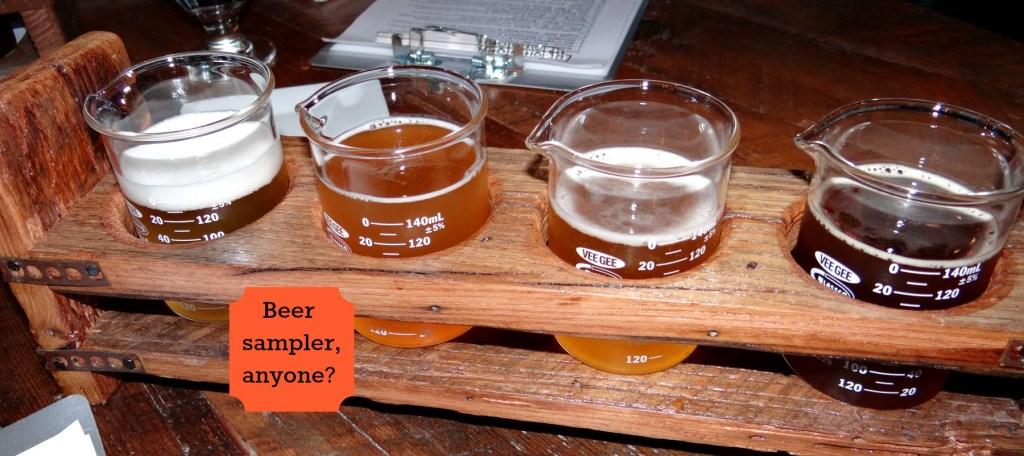 Brewology beer sampler