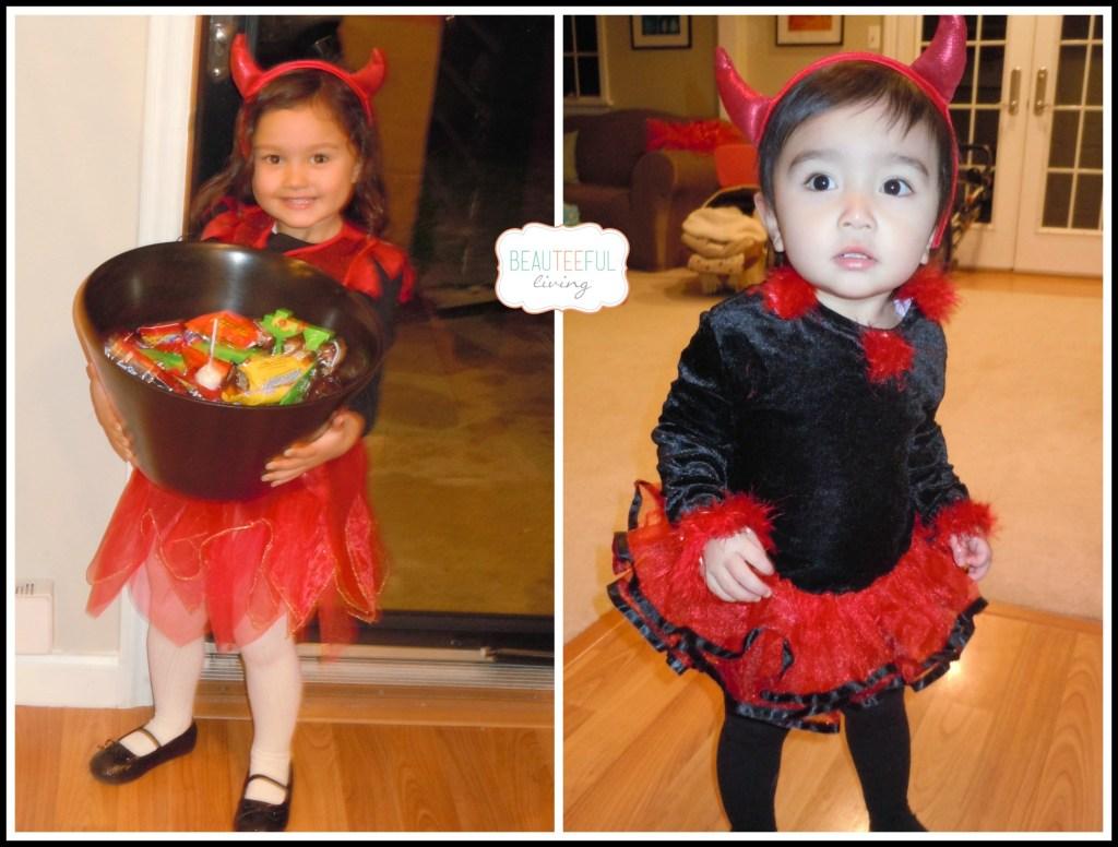 Little devils costumes