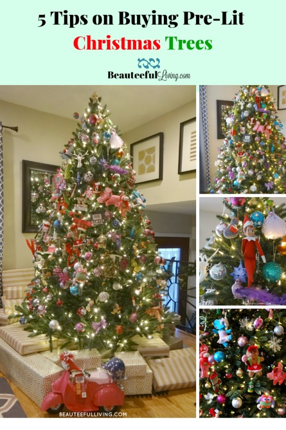 5 Tips on Buying Pre-Lit Christmas Trees - Beauteeful Living