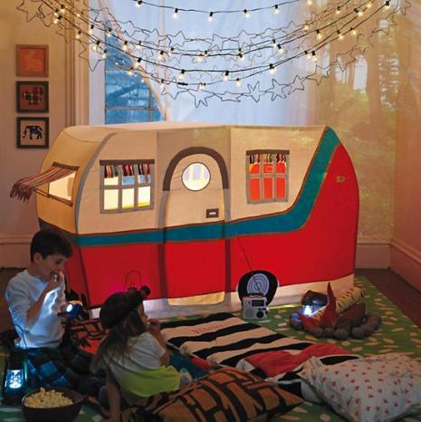 Land of Nod Jetaire Camper Play Tent