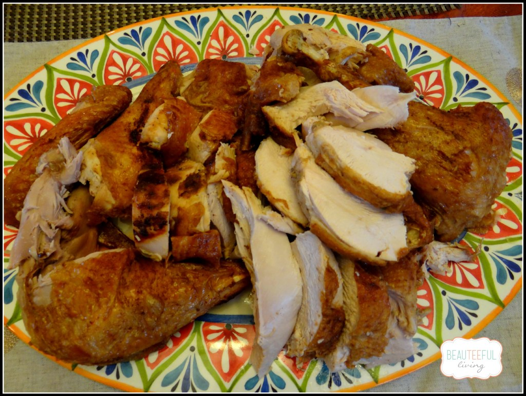 Thanksgiving fried turkey