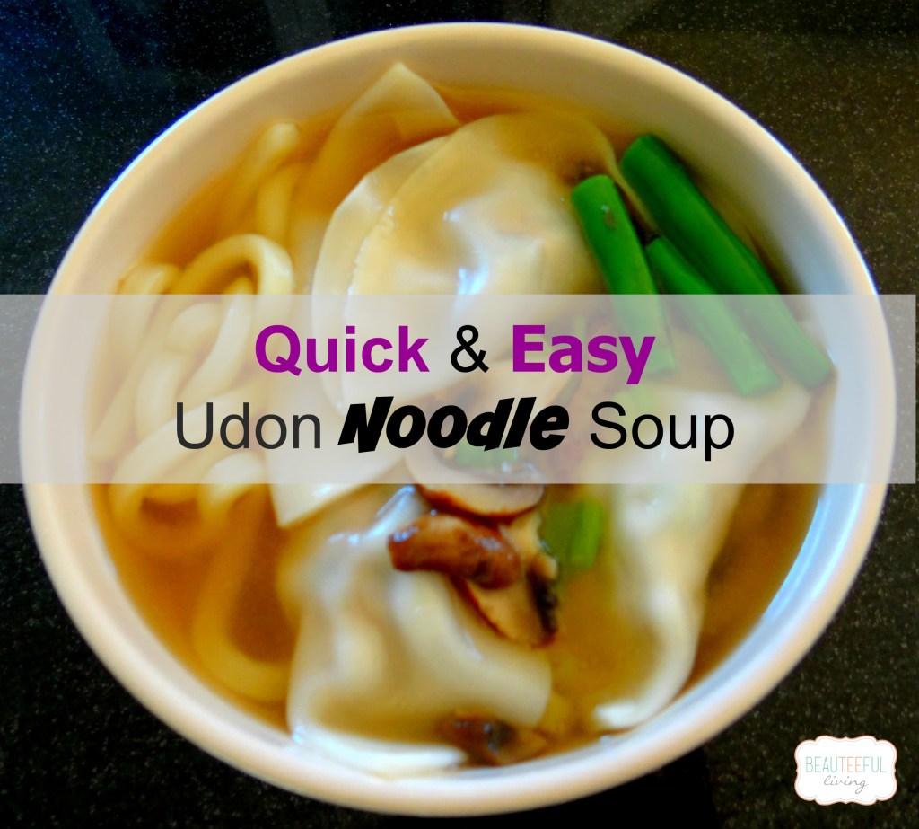 Udon noodle soup featured image