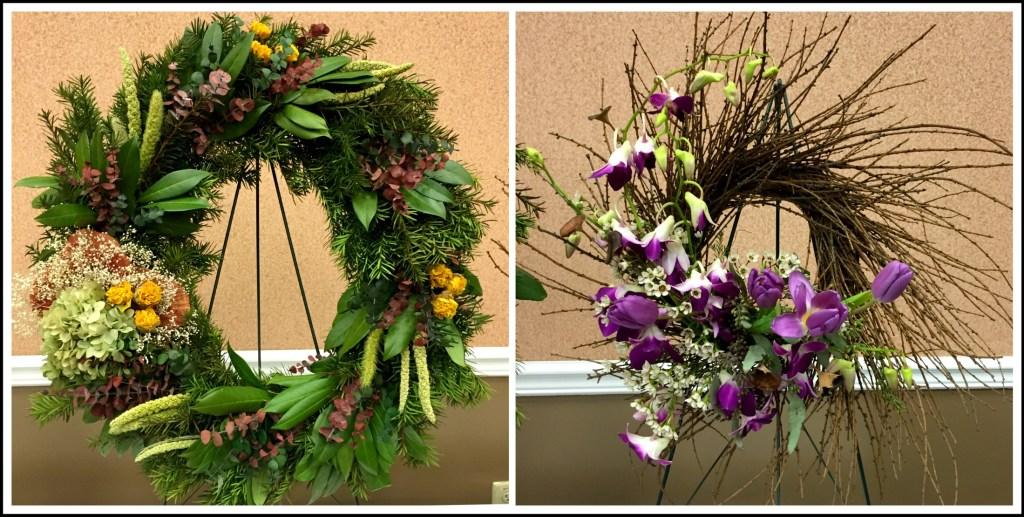 Flower show wreath 1