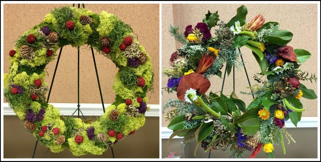Flower show wreath 2