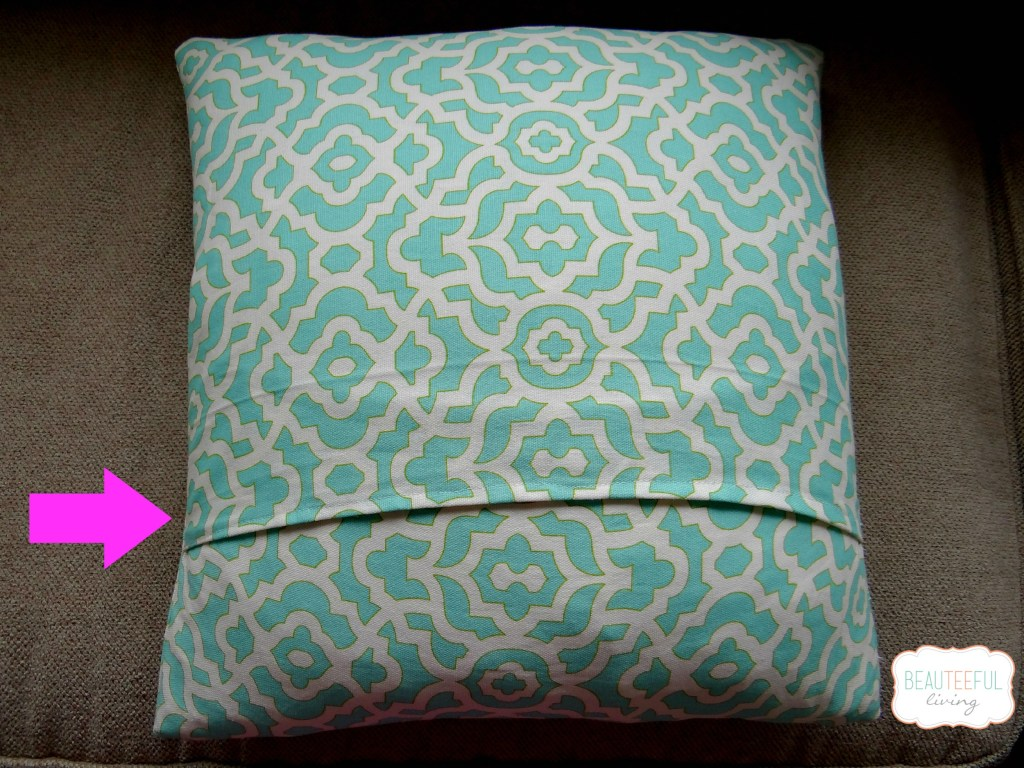 envelope pillow back