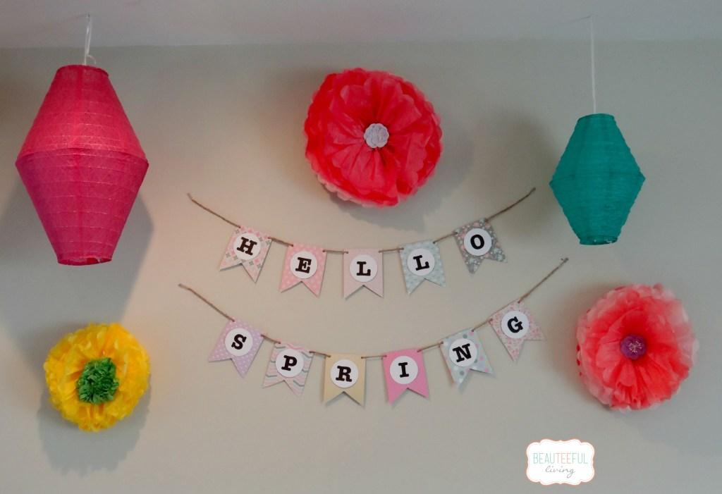 Hello Spring Banner