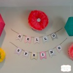 Spring Banner DIY