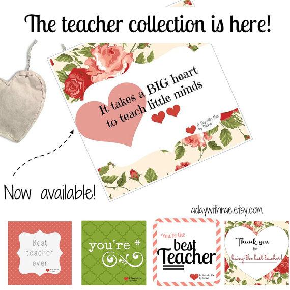 Teachers Teabag Collection