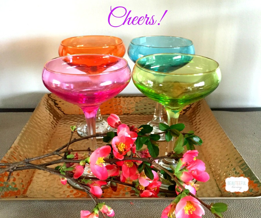 Lilly drinking glasses