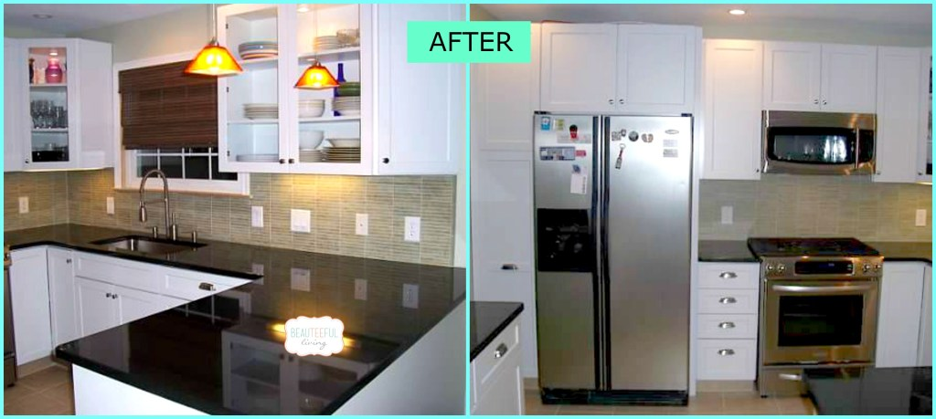 Kitchen renovation after